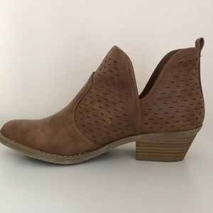 Report Cut Out Ankle Booties
